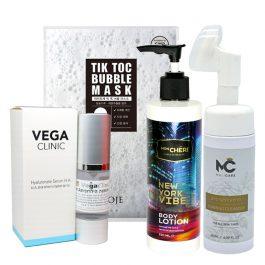ערכת טיפוח אנטי אייג'ינג לעור הפנים והגוף