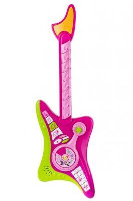 גיטרה אלקטרונית בדמות דיסני + מיקורופון מדונה