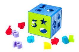 התאם צורה קוביה 18 יחידות