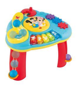 חבילת צעצועים של דיסני: שולחן פעילות מוסיקלי גדול, ספר דיסני, טלפון דיסני