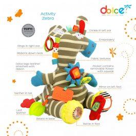 צעצוע פעילות זברה