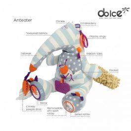 צעצוע פעילות פרימו דוב נמלים