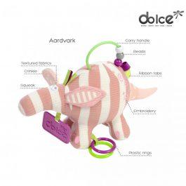 צעצוע פעילות פרימו גור של דוב נמלים