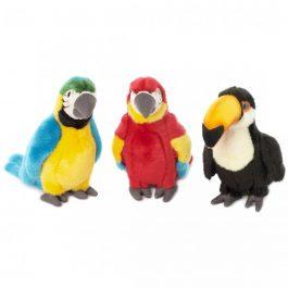 """ציפורים טרופיות – 3 סוגים – 18 ס""""מ"""